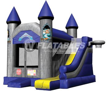 Blue Gray Castle 5-in-1 Combo