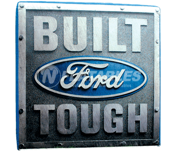Built Ford Tough Inflatable Cube