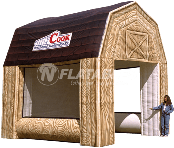 Cook Portable Warehouses Inflatable Replica