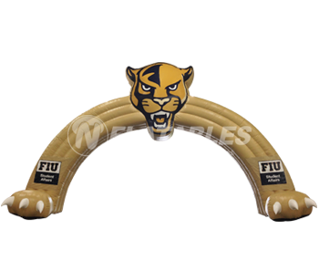 Florida International University Panthers Football Team Arch