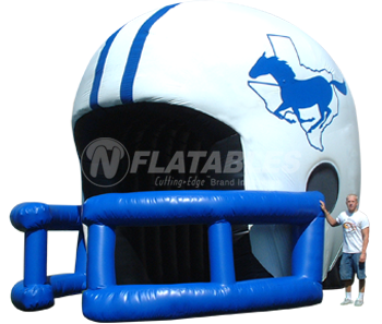 Football Helmet Tunnel