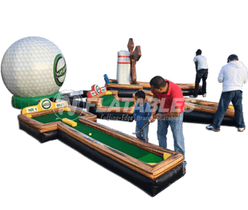 Play-A-Round Golf™ 3-Hole Mini Golf