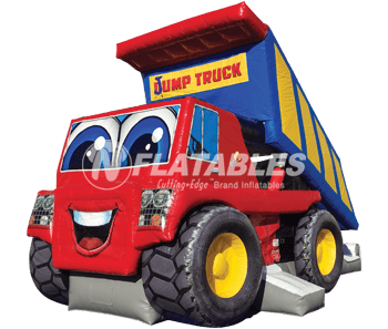 Jump Truck Combo™ (Red/Blue)
