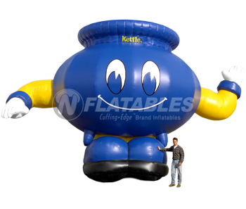 Inflatable Kettle Mascot