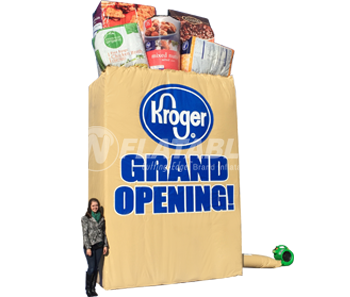 Kroger® Inflatable Grocery Bag