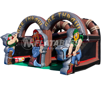 Inflatable Lumberjack Axe Throw™
