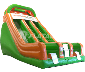 Customized 18' Slide for Nickelodeon Suites