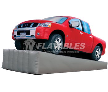 Nissan Truck™ Inflatable Replica