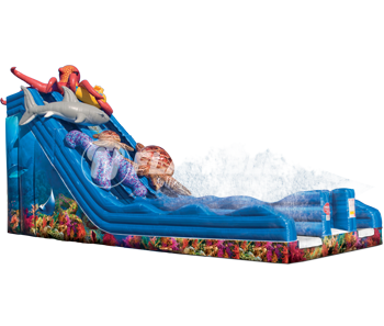 Ocean Quest™ (29') Dual Water Slide