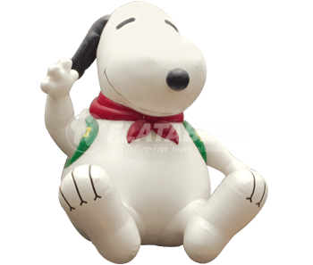 Inflatable Snoopy for Mall of America
