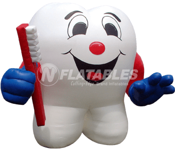 Inflatable Tooth Mascot