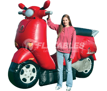 Inflatable Vespa Replica