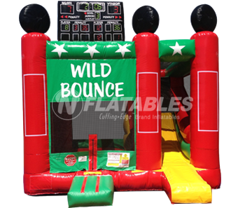 Wild Bounce Custom Bouncer