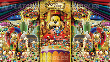 Candy Factory™ Removable Art Panel