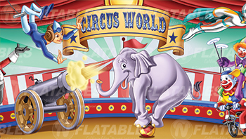 Circus World™ Removable Art Panel