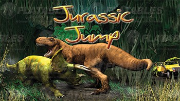 Jurassic Jump™ Removable Art Panel