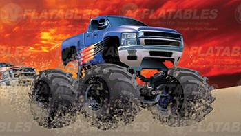 Monster Truck Madness™ Removable Art Panel