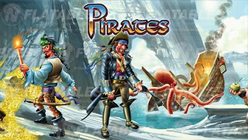 Pirates Removable Art Panel