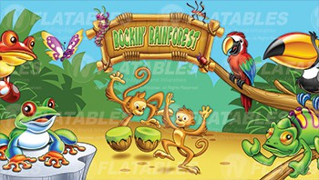 Rockin' Rainforest™ Removable Art Panel