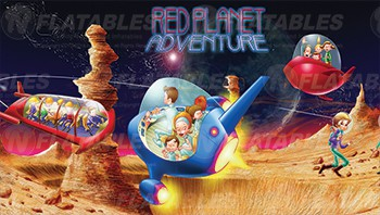 Red Planet Adventure™ Removable Art Panel