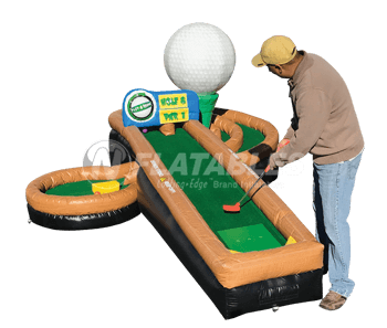 Play-A-Round Golf™ Spiral Hole
