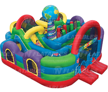 hot deals best sellers bounce houses u0026 combos slides u0026 water slides obstacle courses kid combos - Inflatable Bounce House