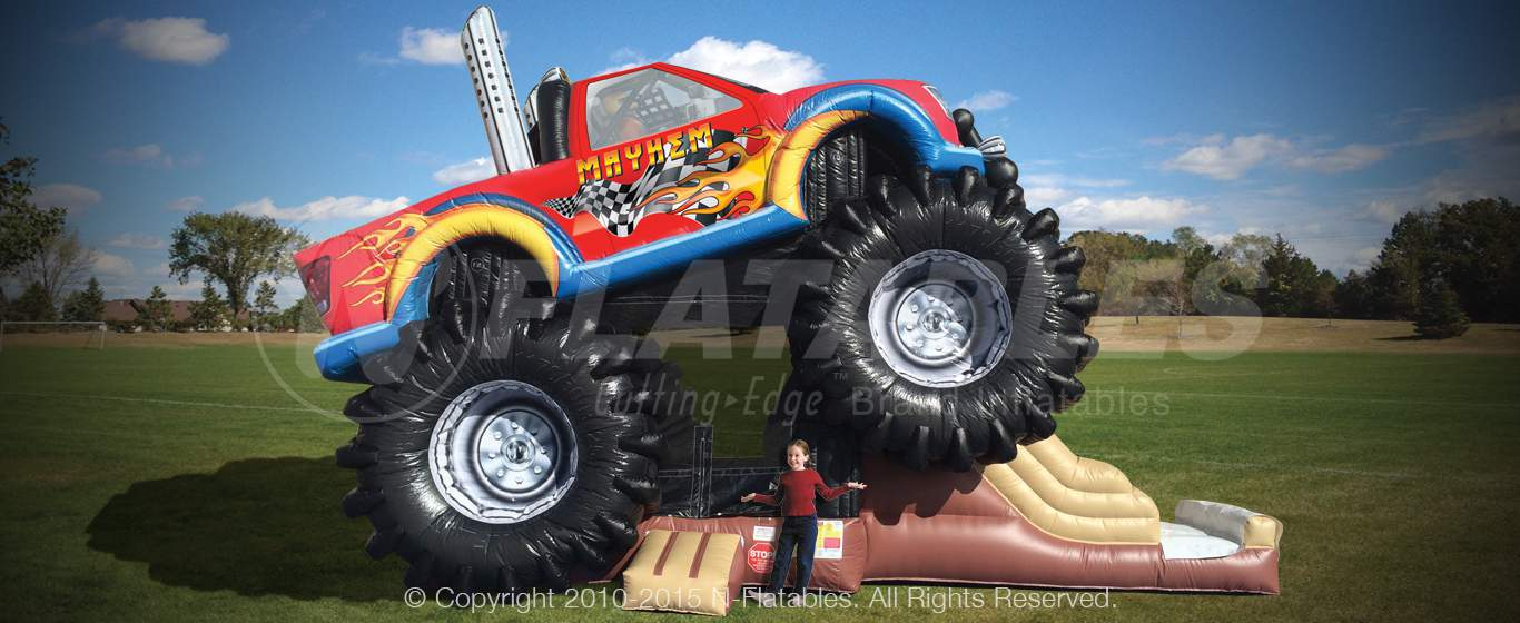commercial-inflatable-monster-truck-for-sale