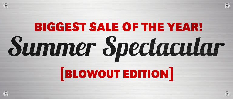 2019 Summer Spectacular Sale